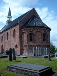 Romaanse kerk in Oldenzijl