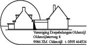 logo VDO het oude dorpshuis met rechts de school